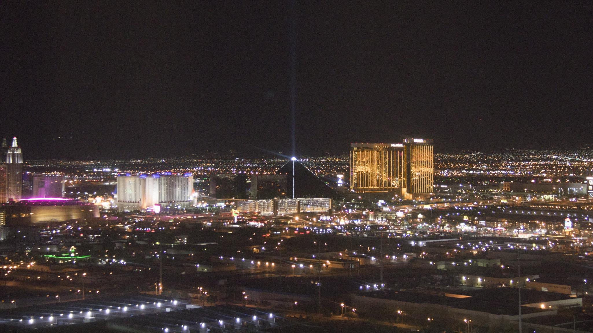 Las Vegas at night (1 of 1)