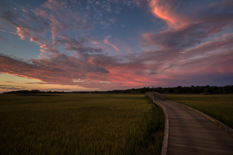 Sunrise over the marsh